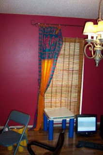 window carol curtain