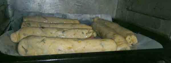 breakfast - sausage rolls, weekend baking