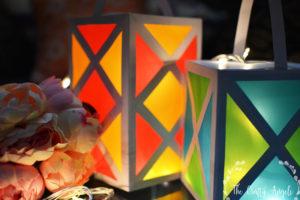 paper lantern for diwali or christmas