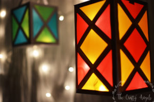 Colorful paper lantern